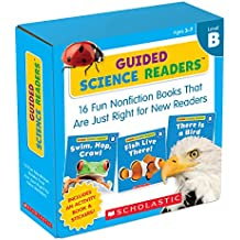 Guided Science Readers Parent Pack: Level B: 16 Fun Nonfiction Books That Are Just Right for New Readers