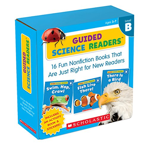 (Guided Science Readers Parent Pack: Level B: 16 Fun Nonfiction Books That Are Just Right for New Readers)