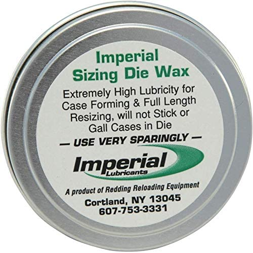 Imperial Redding Sizing Die Wax 2 Ounce Tin Md: 07600