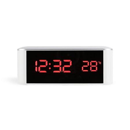 Despertadores táctiles MXECO Decoración para el hogar Reloj de ...