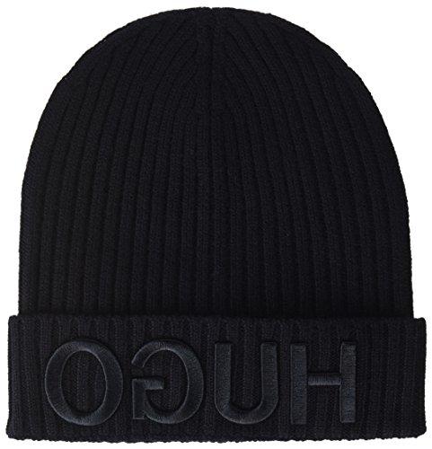 Gorro 001 Black para Hombre HUGO Negro de Punto A6daqwqC