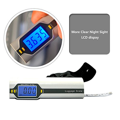 Bien Venida Digital Hanging Luggage Weight Scale with Measure1 Pack CH-150/100LB Capacity by Bien Venida (Image #2)