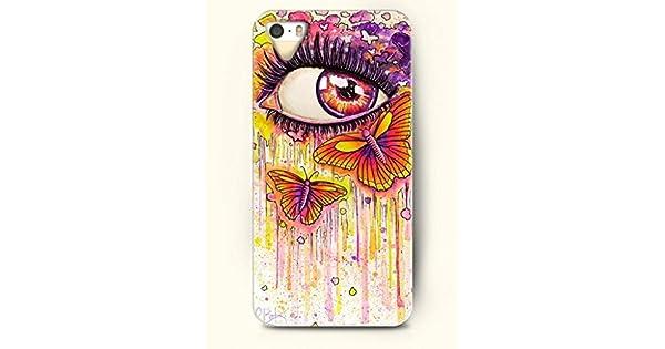 Amazon.com: SevenArc Phone Case Design with Limpid Red Eye ...
