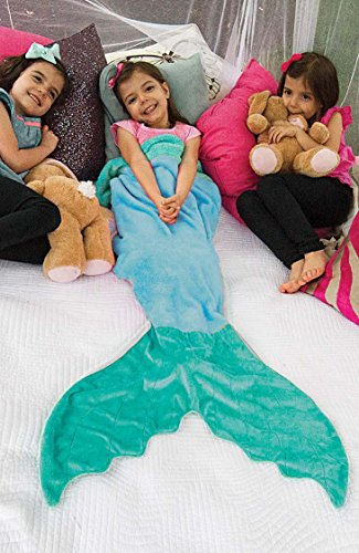 The Original Blankie Tails Mermaid Tail Blanket: Gifts for shark lovers