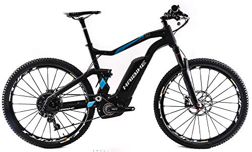"HaiBike 2018 XDuro FullSeven 8.0 50cm Carbon 27.5"" Full Suspension E-Bike New"