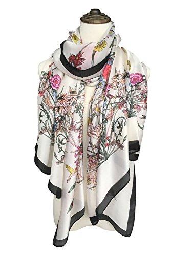 DOCILA Silk Like Fashion Evening Flowers