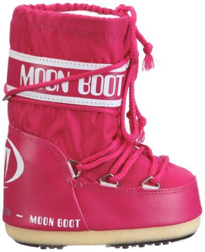 Moon Adulto bouganville Rosa Neve Nylon 062 Boot Da Stivali Unisex Fw4Ufq