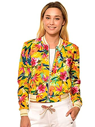 ffb9a873b4 Women's Jacket Women's Yellow Jacket Women's Bomber Jacket DOLPHIN  PENSACOLA. Banana Moon