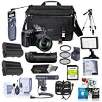 Nikon D610 DSLR Camera with AF-S NIKKOR 28-300mm f/3.5-5.6G ED VR Lens - BUNDLE with Camera Case, 32/16GB SDHC Card, 2x Spare Battery, Filter Kit, On-Camera Mic, Remote Shutter, Tripod and More