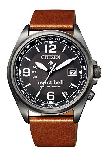 """PROMASTER Eco-Drive Radio Clock""""Promaster x Mont-Bell"""" Collaboration Model 500  Men's - CITIZEN CB0177-23E"""