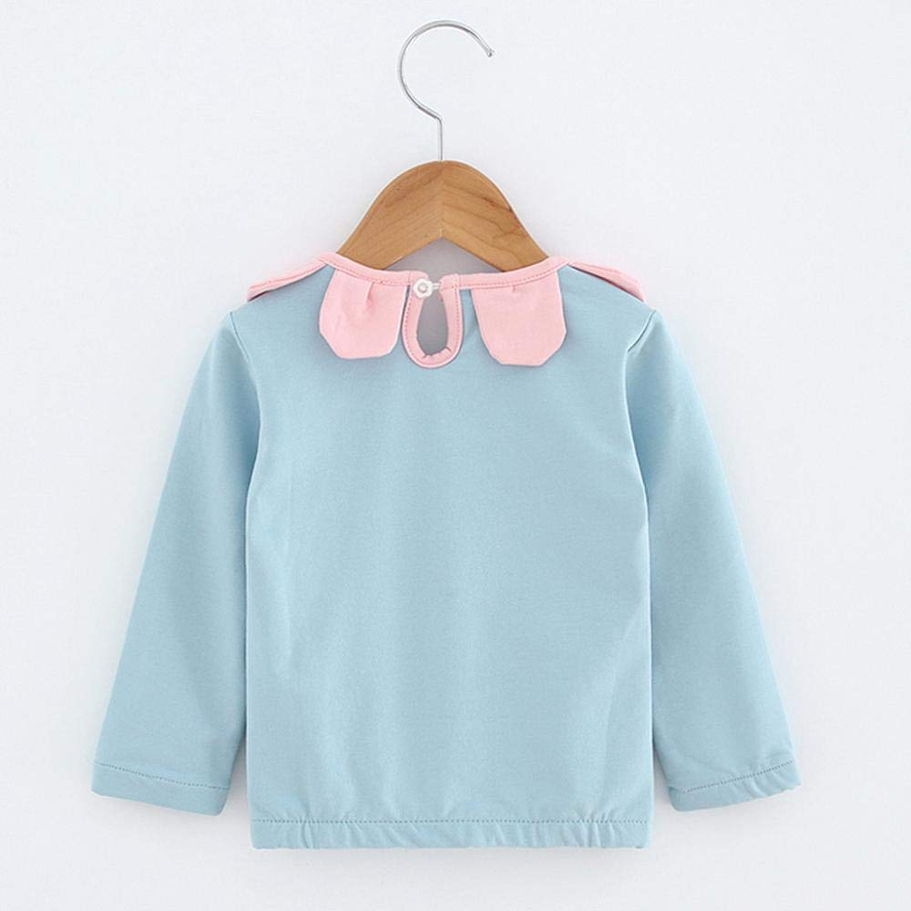SHIRT1-KIDS Judo Childrens Girls Short Sleeve T Shirts Ruffles Shirt Tee for 2-6T