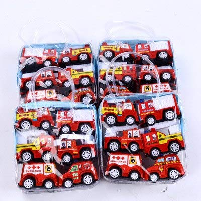 Diecasts & Toy Vehicles - 6PCS/Lot Baby Toys Mini Construction Vehicle Cars- Cement, Bulldozer, Road Roller, Excavator, Dump Truck, Tractor Toys for Boy - by TINIX - 1 PCs from TINIX
