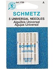 Euro-Notions Schmetz Universal Machine Needles, Size 12/80 5/Pkg