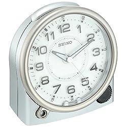 Seiko (SEIK7) Plastic Alarm Clock (Model: QHE143ALH)