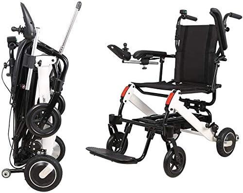 MJ-Brand Silla de Ruedas eléctrica Ancianos discapacitados Sillas de Ruedas eléctricas, Subir y Bajar escaleras Escalar sillas de Ruedas Escaleras eléctricas Escalar Fácil de operar para Ancianos
