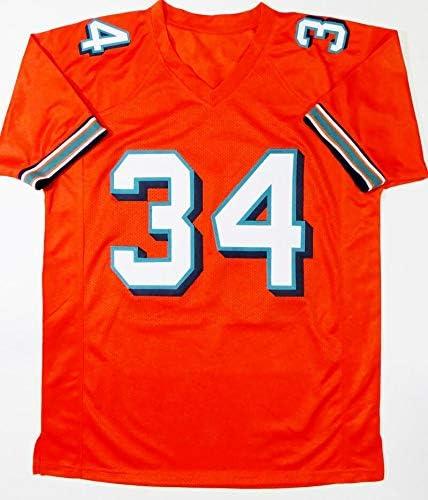 Ricky Williams Autographed Orange Pro Style Jersey w/SWED - JSA W ...