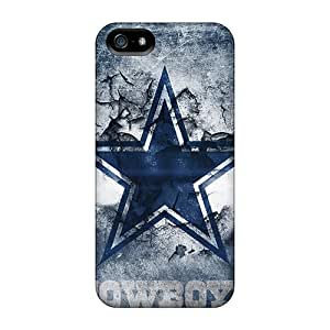 Tpu Shockproof/dirt-proof Dallas Cowboys Cover Case For Iphone(5/5s)