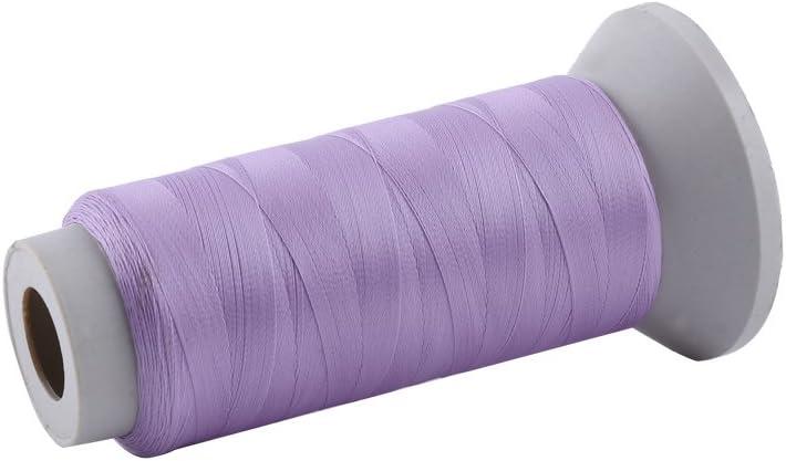 1000 Yard-Pink Luminous Spool Embroidery Sewing Thread Machine Hand Glow In The Dark