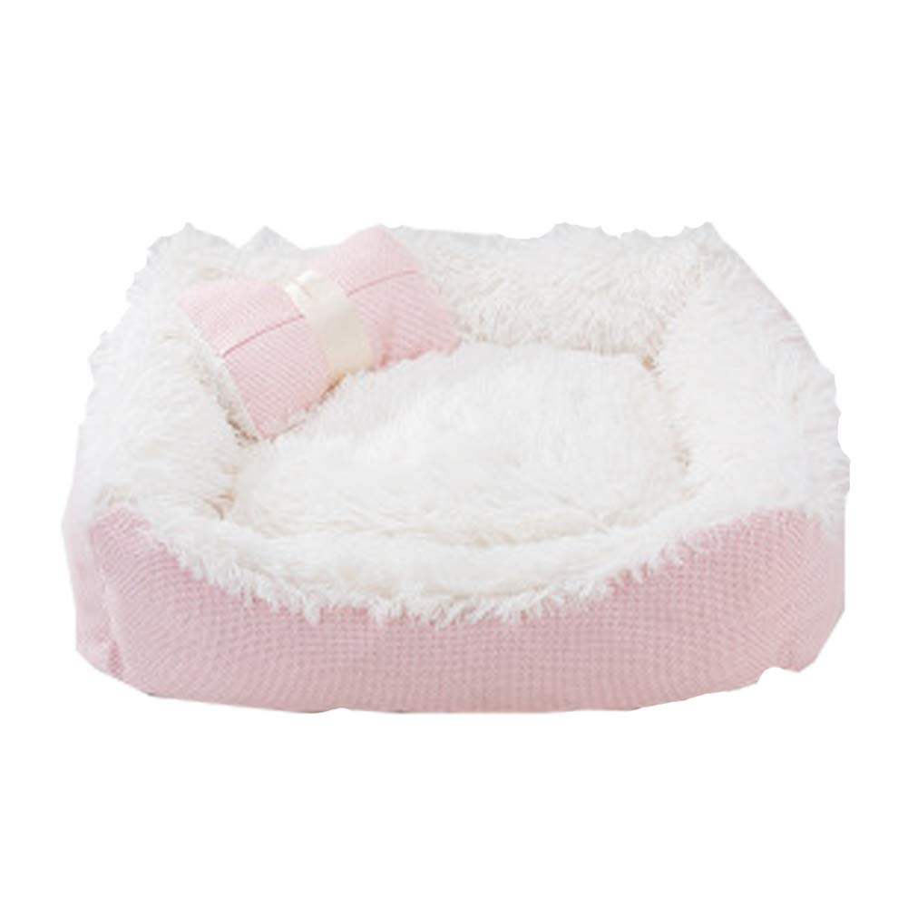 Pink Large Pink Large Kennel Four Seasons Universal Dog Kennel Dog Bed Winter Teddy Winter Warm Small and Medium Dog Breed