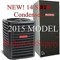 Goodman 3 Ton 14 Seer Heat Pump Split System GSZ140361 ARUF37D14