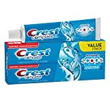 Crest Whitening plus Scope Toothpaste-Cool Peppermint-6.2 oz, Twin Pack