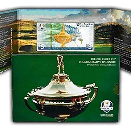 The Ryder Cup 2014 Golf Tournament Limited Rare Commemorative