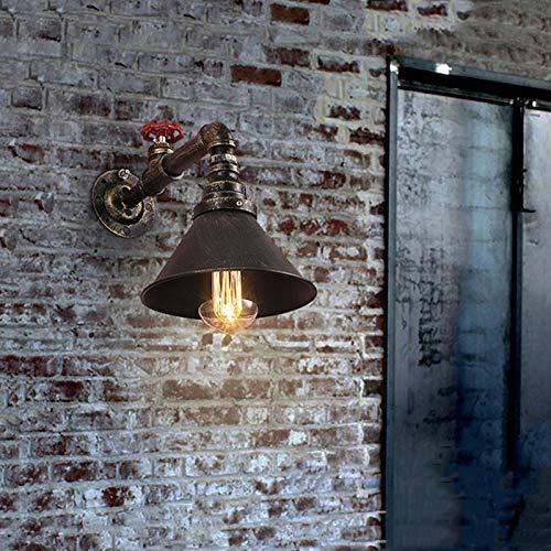 Hierro Lámpara De Vintage Industrial Retro Tubería ucFlK3T1J