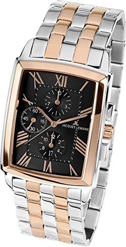 Jacques Lemans Men's 1-1609H Bienne Classic Analog Chronograph Watch