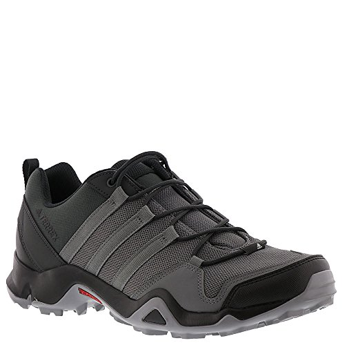 adidas outdoor Men's Terrex AX2R Carbon/Grey Four/Solar Slime 10 D US D (M)