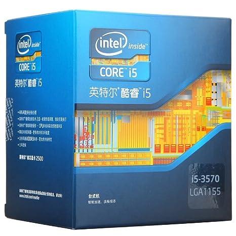 Intel Core i5 i5-3570 3.40 GHz Processor - Socket H2 LGA-1155 Components at amazon