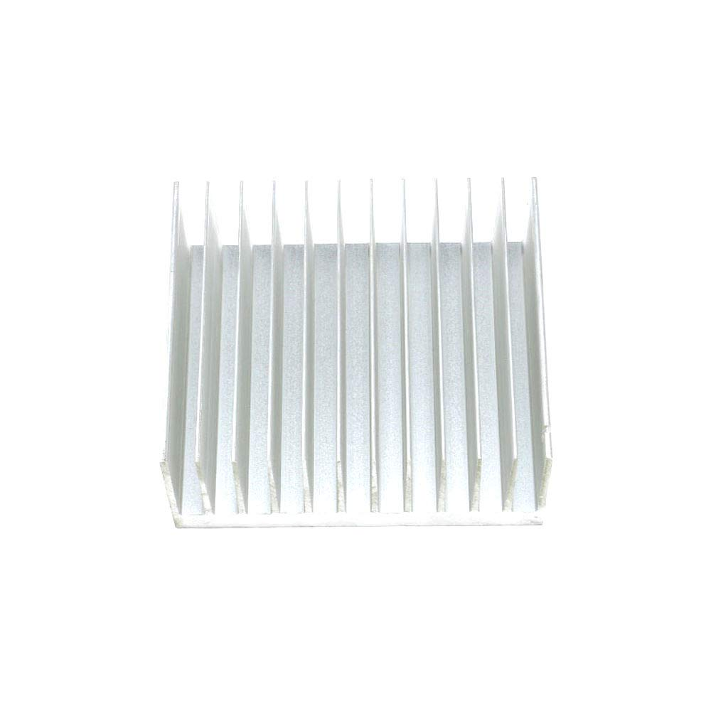 DIYElectronic 1 pc 140x120x60mm Heatsink Cooler Cooling Fin Aluminum Heat Sink Radiator for IC Chip LED 14012060mm