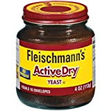 Fleischmann's Vinegar Yeast Active Dry Jar 4 oz (Pack Of 12)
