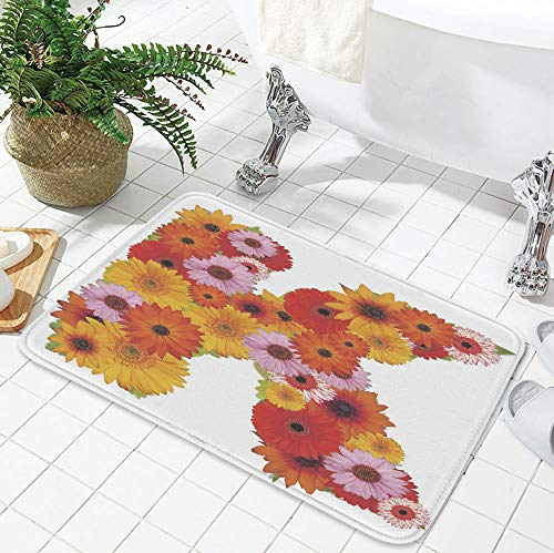 YOLIYANA Ultra-Soft Mat,Letter K,for Kitchen Living Room,19.69