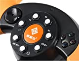 WruiGameMon FT33C2 Game Console Steering Wheel with PC/PS2/PS3 Port