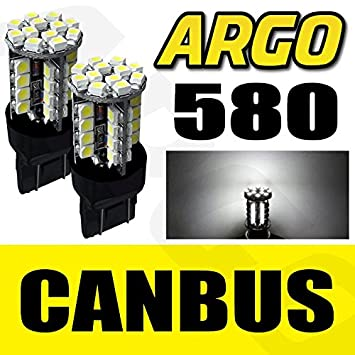 2 x T20 Canbus LED Sidelight 580 7443 bombillas Opel Corsa D Astra GTC Insignia: Amazon.es: Coche y moto