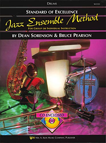 W31D - Standard of Excellence Jazz Ensemble Method: Drums