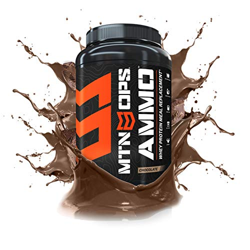 MTN OPS Ammo Protein Meal Replacement Powder - 28 Servings, Chocolate