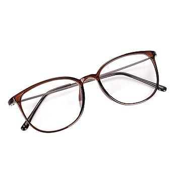dc521ddc389 Women Men Reading Glasses Blue Light Blocking Computer Glasses Anti Eye  Strain UV Black Eyeglasses Teenager