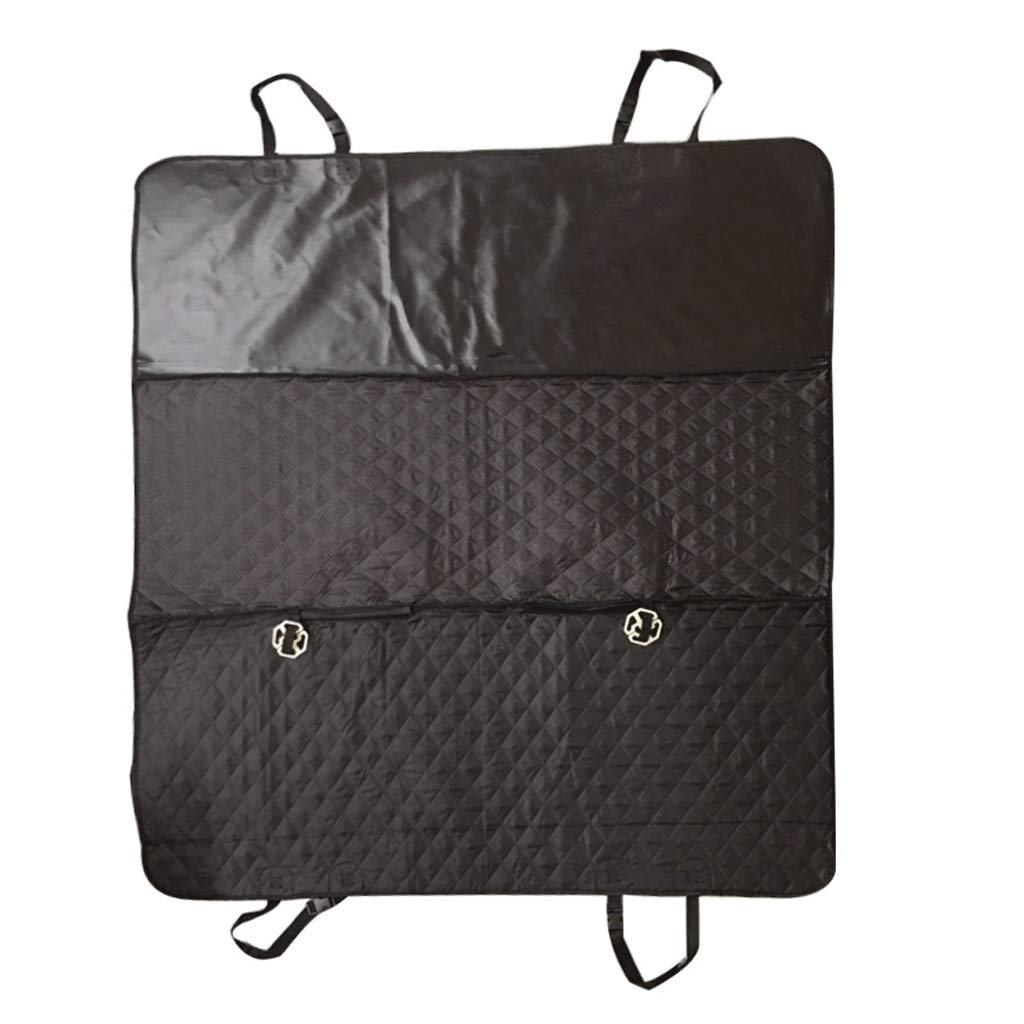 Black Pet Carrier Dog Car Seat Cover Scratch Proof Nonslip Pet Seat Cover for Cars Heavy Duty Dog Car Predector 147  137cm (color   Black)