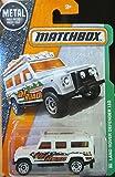 Matchbox, 2016 MBX Explorers, Land Rover Defender 110 [White] #110/125