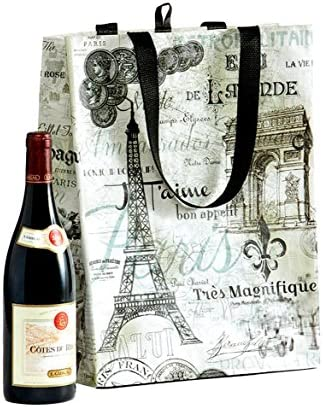 Reusable Shopping Tote Vintage Collage product image