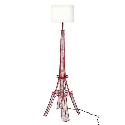 Euro Style Collection ESCFL-PARIS-RED Paris Eiffel Tower Metal Body Floor  Lamp - Euro Style Collection ESCFL-PARIS-RED Paris Eiffel Tower Metal