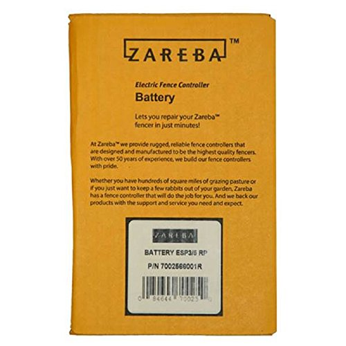 Zareba Solar Fencer 6V Replacement Battery - 4.5