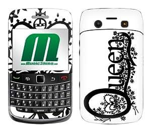 MusicSkins, MS-QUEN30043, Queen - Logo, BlackBerry Bold (9700), Skin