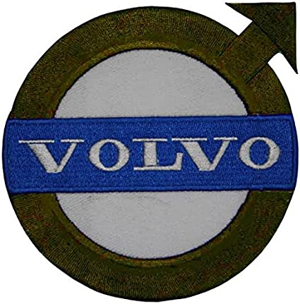 Volvo Cars verde scuro stemma ricamato toppa da cucire o