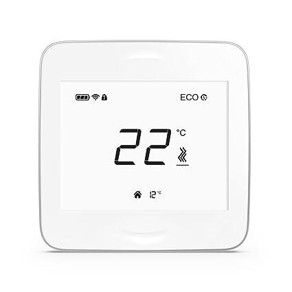 AirPatrol smartheat roomunit – Smart inalámbrico (WiFi) – Termostato para suelo radiante sistemas de