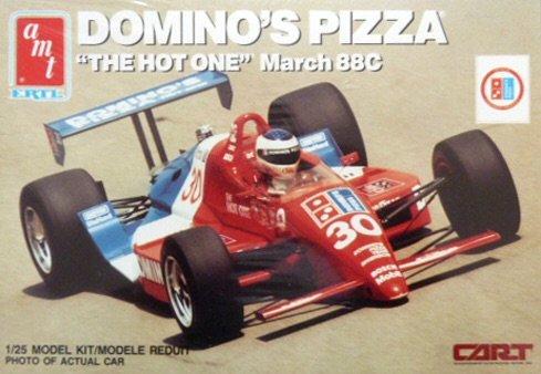 amt 1/25 DOMINO`S PIZZA `THE HOT ONE`March 88C マーチ88C コスワースV8の商品画像