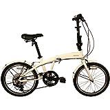 "TEKCOUP 7 Speed Aluminum Folding Bike 20"""