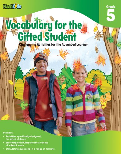 Download Vocabulary for the Gifted Student Grade 5 (For the Gifted Student): Challenging Activities for the Advanced Learner ebook