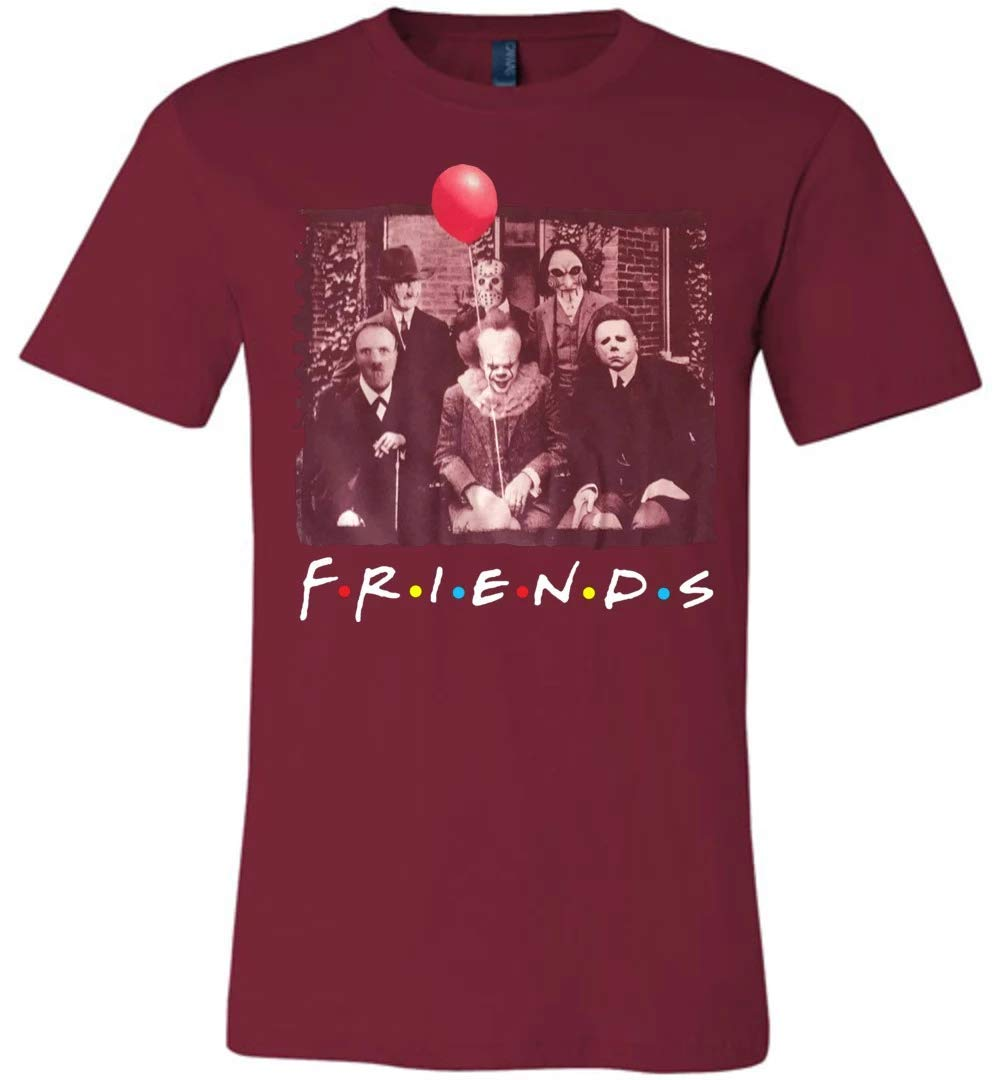 Reality Stone Funny Friends Halloween Unisex T Shirt For Cute Horror Movies Fan Gift